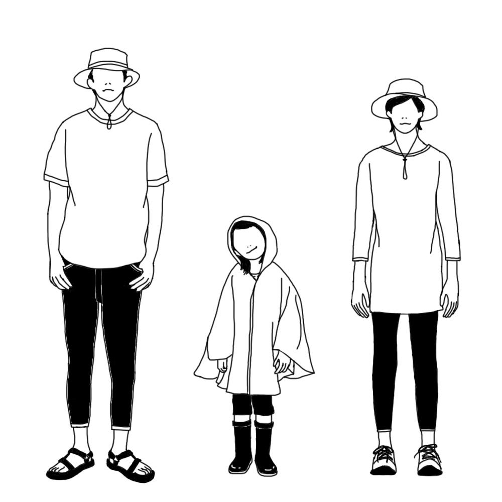 夏服のイメージ