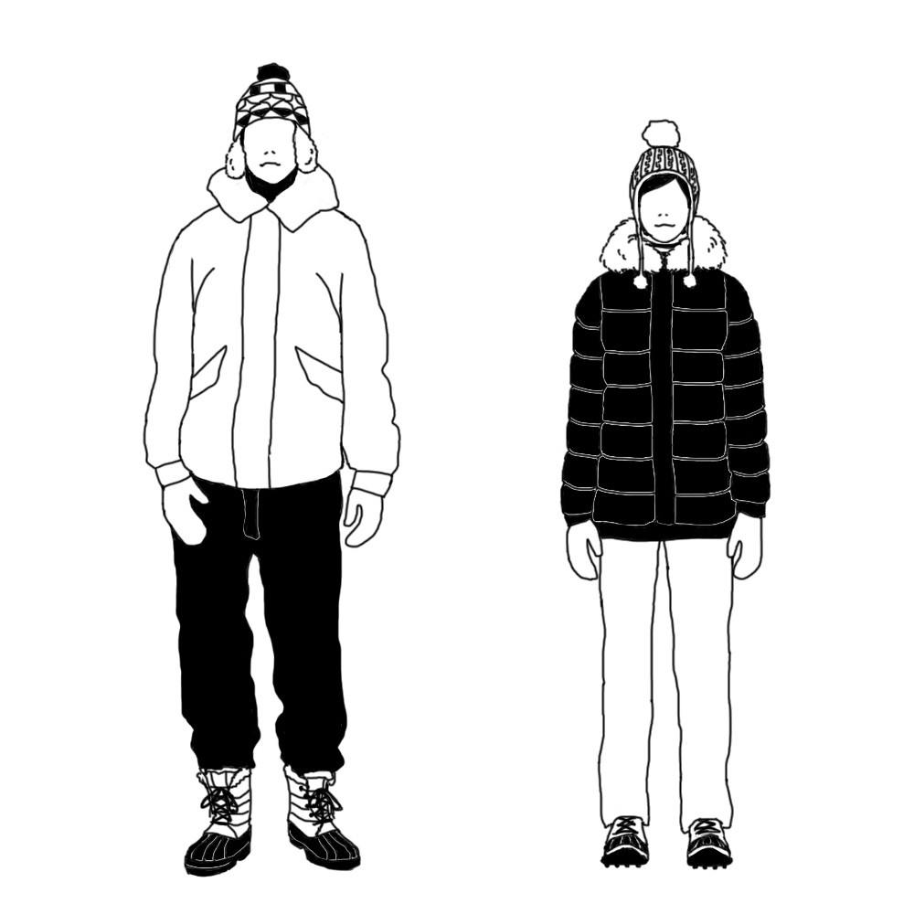 冬服のイメージ
