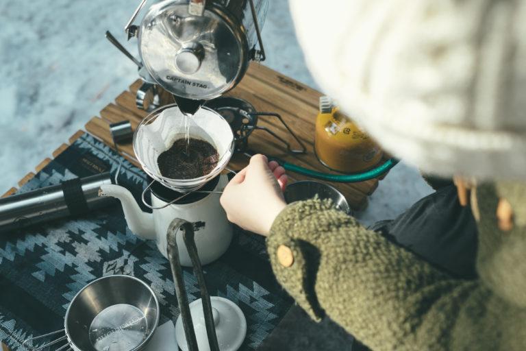 アウトドアコーヒー講習会(10/15)のイメージ写真