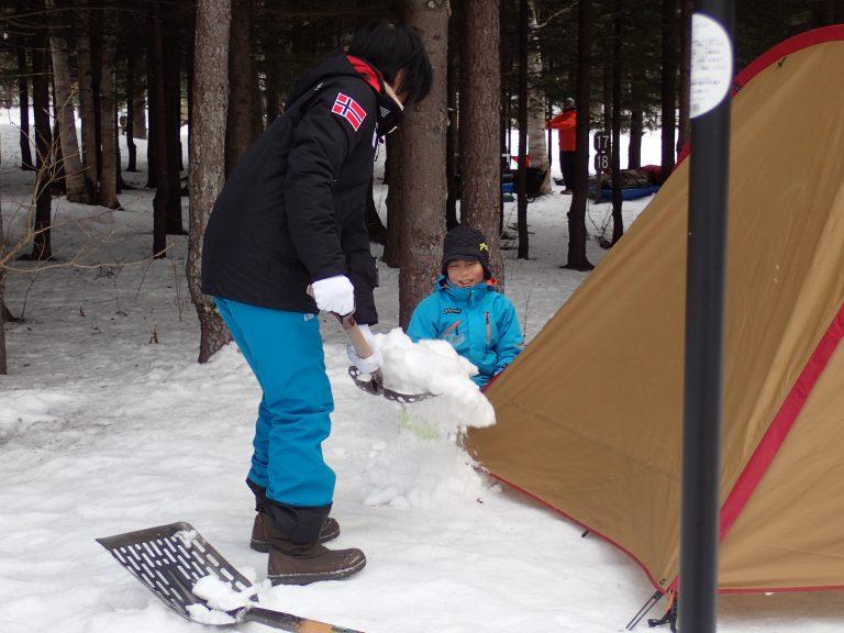 親子でコソ練キャンプ~冬キャンプ~のイメージ写真